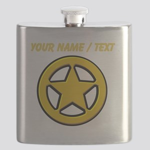 Sherriff Badge Flask