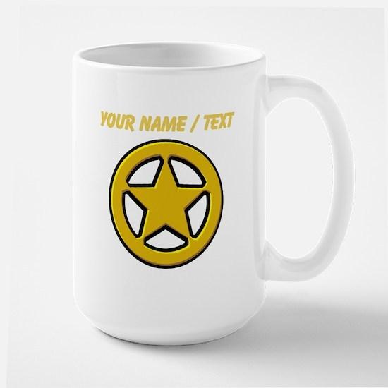 Sherriff Badge Mugs