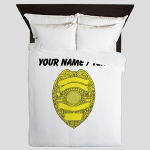 Police Badge Queen Duvet