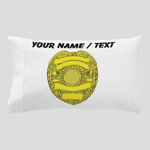 Police Badge Pillow Case