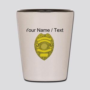 Police Badge Shot Glass
