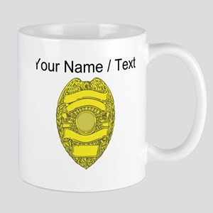 Police Badge Mugs