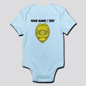 Police Badge Body Suit
