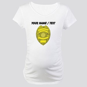 Police Badge Maternity T-Shirt