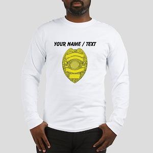 Police Badge Long Sleeve T-Shirt
