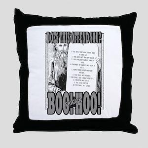 BOO FRIGG'N HOO! Throw Pillow