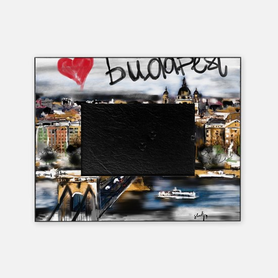 Cute Budapest Picture Frame