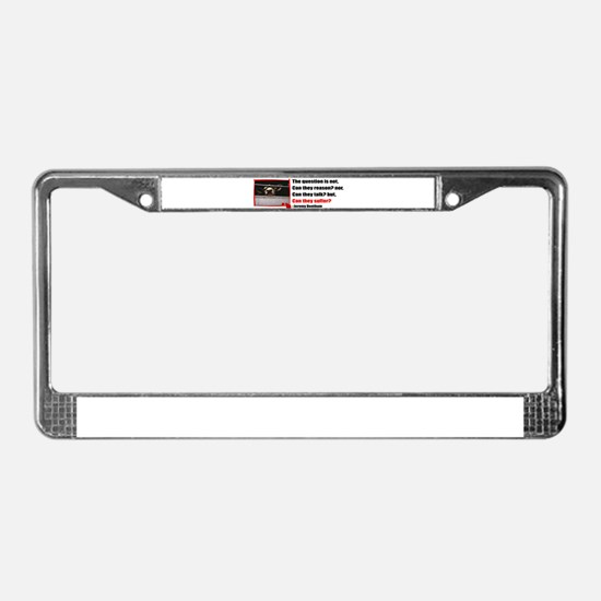 Cute Compassion License Plate Frame