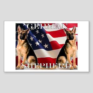 All American! Rectangle Sticker