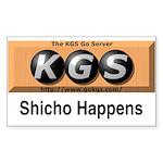 Shicho Happens Sticker