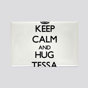 Keep Calm and HUG Tessa Magnets