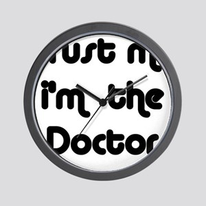 Trust Me I'm The Doctor Wall Clock