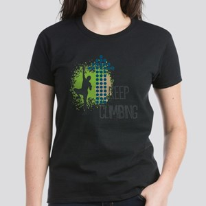 Keep climbing Women's Dark T-Shirt