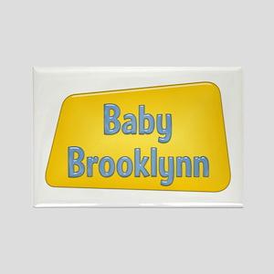 Baby Brooklynn Rectangle Magnet