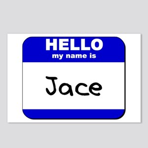 hello my name is jace  Postcards (Package of 8)