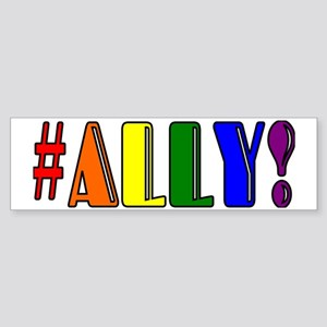 Proud Ally Sticker (Bumper)