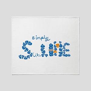 Simply Slime Throw Blanket