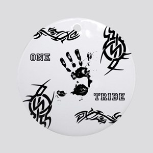 One Tribe Round Ornament