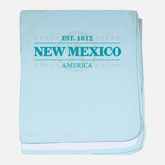 New Mexico baby blanket