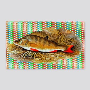 Perch Fish Area Rug