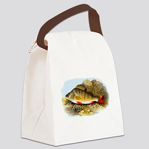Perch Fish Canvas Lunch Bag