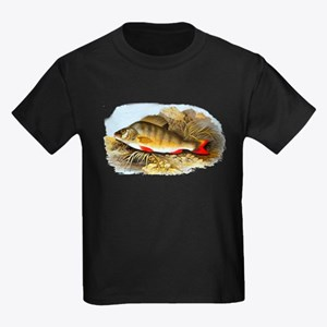 Perch Fish Kids Dark T-Shirt