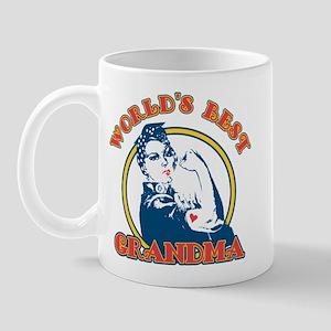Rosie Riveter Best Grandma Mug
