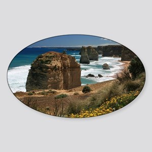 Australia Twelve Apostles Souvenir  Sticker (Oval)