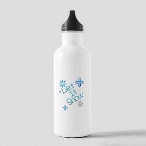 Let It Snow Water Bottle