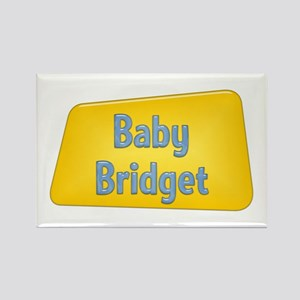Baby Bridget Rectangle Magnet