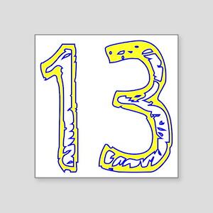 """fun13 Square Sticker 3"""" x 3"""""""