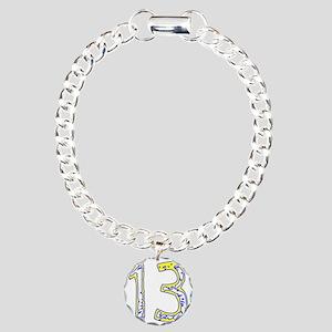 fun13 Charm Bracelet, One Charm