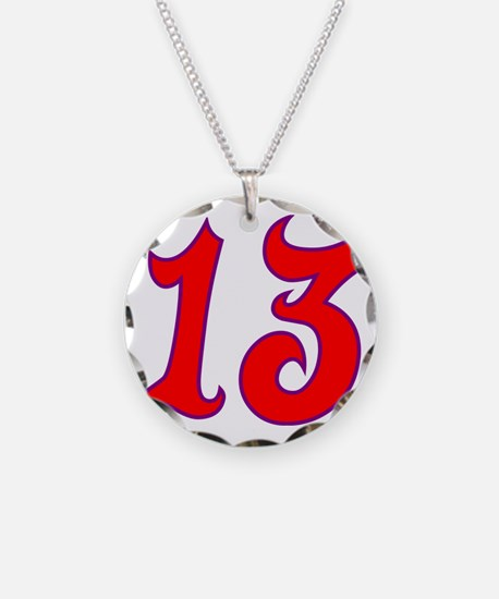 Fire 13 Necklace