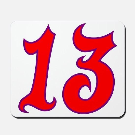 Fire 13 Mousepad