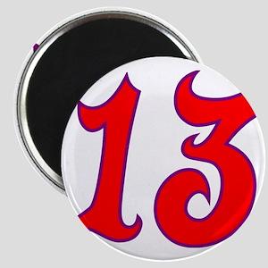 Fire 13 Magnet