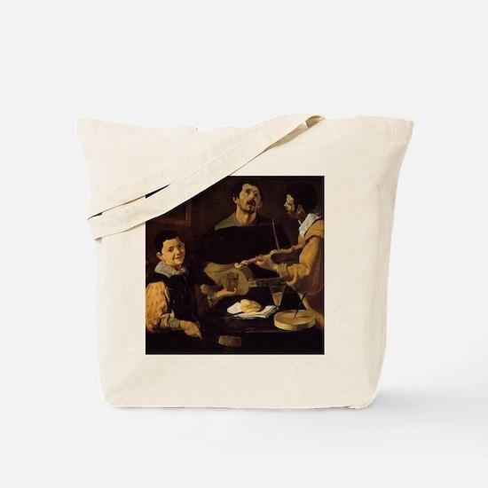 Velazquez - Three Musicians Tote Bag