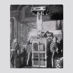 Houdini and the Water Torture Cell, 1913 Throw Bla