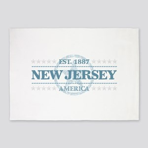 New Jersey 5'x7'Area Rug