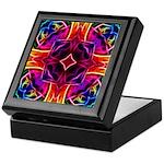 Rainbow Rose Kaleidoscope Keepsake Box