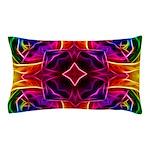 Rainbow Rose Kaleidoscope Pillow Case