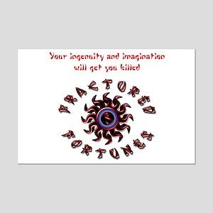 Ingenuity (Red) Mini Poster Print