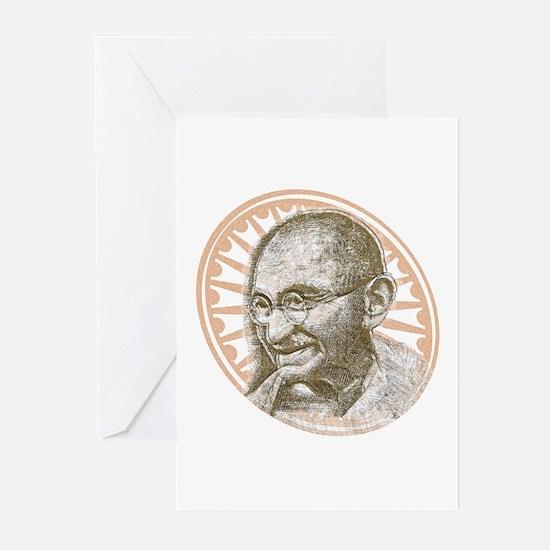 Gandhi Republic Day Greeting Cards (Pk of 10)
