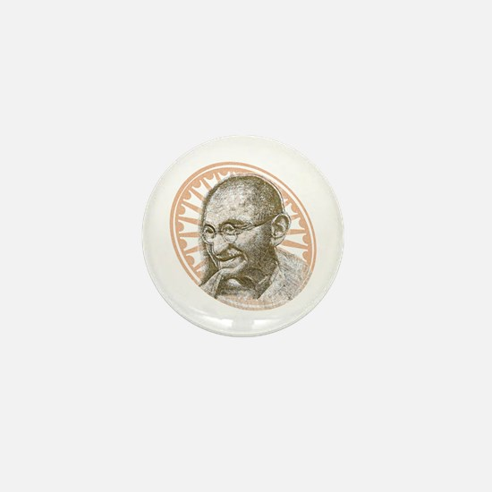 Gandhi Republic Day Mini Button