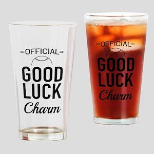 Baseball - Official Good Luck Charm Drinking Glass