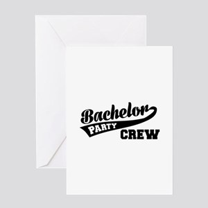 Bachelor Party Crew Greeting Card