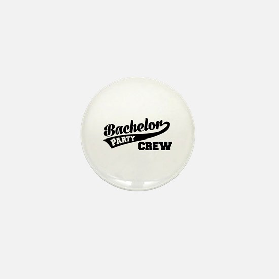 Bachelor Party Crew Mini Button
