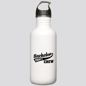 Bachelor Party Crew Stainless Water Bottle 1.0L