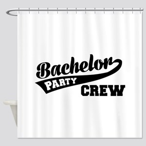 Bachelor Party Crew Shower Curtain