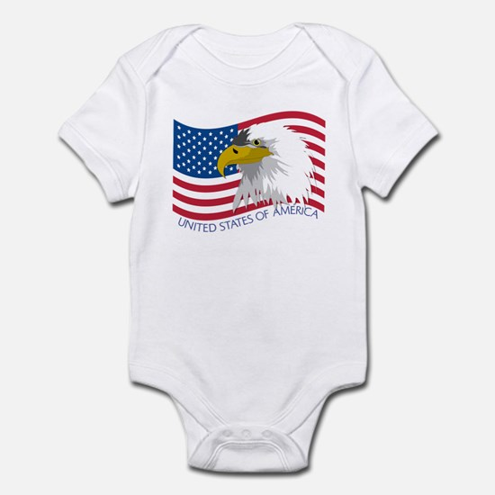 Bald Eagle Infant Bodysuit