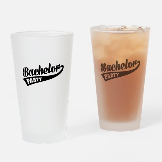 Bachelor Party Drinking Glass